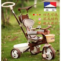 森夏儿童三轮车 自行车1-4岁 宝宝脚踏车手推车6.1优惠价SX301