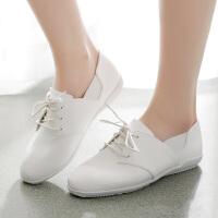 春季新款小白鞋女韩版休闲鞋青春百搭运动鞋女鞋低帮系带小白鞋女