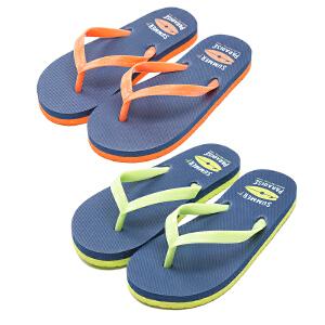 KK树儿童拖鞋夏男童女童凉拖宝宝夹脚人字拖中大童平跟防滑沙滩鞋