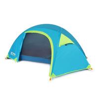 户外帐篷单人双层防雨防风露营钓鱼野营帐篷单人骑行