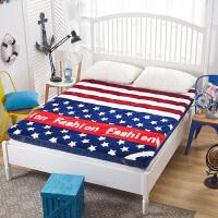 学生宿舍床垫加厚床褥子单人上下铺寝室0.9m垫被90cm1.2米1.0m床1.5/1.8米法莱绒立体床垫