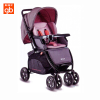 【当当自营】好孩子(Goodbaby)C550双向全蓬新 生婴幼儿童手推车 童车 C550-M431PP(粉色)