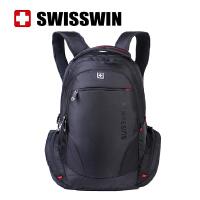 SUISSEWIN瑞士军刀2017新品大容量旅行包商务电脑包双肩包男女通用SN8118