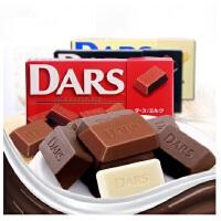 【当当自营】日本进口森永达诗DARS 黑巧克力/牛奶巧克力 42g(12粒)*3盒