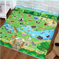 宝宝爬行垫爬爬垫环保婴儿200*180*0.5cm地毯儿童泡沫地垫爬行垫室内室外玩具