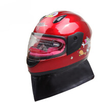 冬季防寒保暖帽儿童头盔 摩托车头盔电动车头盔 小孩子全盔