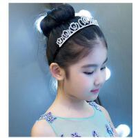 儿童皇冠公主头饰发饰花童皇冠配饰女孩六一演出饰品发箍头箍