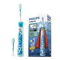 飞利浦声波震动牙刷HX6312充电式电动牙刷儿童牙刷