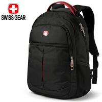 SWISSGEAR瑞士军刀双肩电脑背包 防水面料时尚休闲双肩笔记本包14英寸 男女商务双肩包