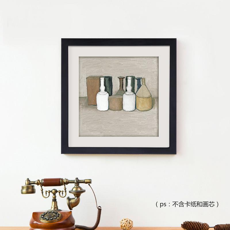 御目 相框 实木正方形十字绣裱画框7寸5 6 8 16 12 10 20 24寸挂墙