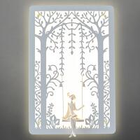御目 壁灯 卧室书房床头灯简约现代创意欧式美式个性阳台儿童房客厅灯 创意灯具