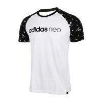 Adidas阿迪达斯男装 NEO运动休闲短袖T恤 BK0583 现