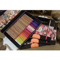 MARCO马可铅笔秘密花园专用彩色铅笔 雷诺阿48色油性彩色铅笔 专业美术彩铅3100
