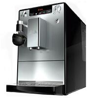 德国 Melitta/美乐家 Lattea冰灿银进口拿铁全自动咖啡机意式泵压