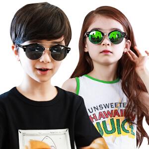kocotree2017新款儿童眼镜太阳镜宝宝墨镜男童女童眼镜小孩百搭潮