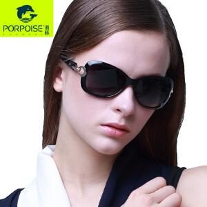海豚新款女士偏光太阳眼镜明星款时尚优雅大框驾驶旅游墨镜PP3182