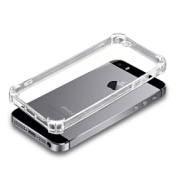 iphone5s手机壳硅胶5苹果SE手机套透明ip5s防摔保护套pg5简约男女