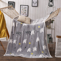 珊瑚绒毯子法莱绒毛毯雪豹绒盖毯加厚绒毯法兰绒保暖床单