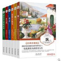 简爱/飘上下册/傲慢与偏见/钢铁是怎样炼成的/红与黑文学小说书籍全套6册