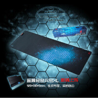 游戏狂人 鼠标垫超大游戏鼠标垫 包边锁边键盘桌垫正品 lol cf