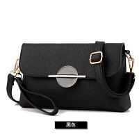 手拿包女士包包2017新款链条磁扣零钱包夏季单肩斜挎小包   KL- 一横一圆小包