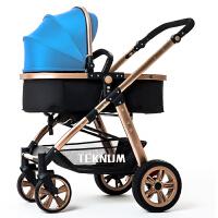 婴儿推车高景观冬夏两用可坐平躺四轮避震折叠儿童B手推车