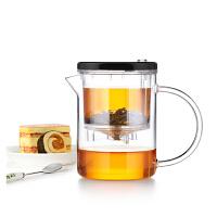 尚明飘逸杯耐热玻璃茶叶杯玲办公珑杯家用过滤沏茶杯玻璃茶具E-21