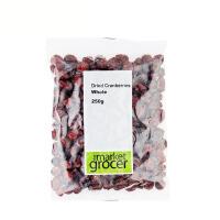 The Market Grocer蔓越莓干 澳洲蔓越莓干果零食进口烘焙原料250g 江浙沪皖2件包邮