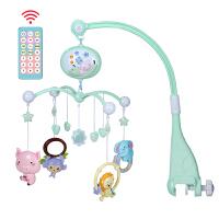 米宝兔新生婴儿脚踏钢琴健身架器3-6-12个月宝宝玩具游戏毯0-1岁