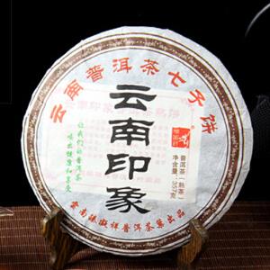 2009年 秦凝详(云南印象)熟茶 357克/饼 28饼
