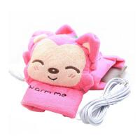 冬季电热手套USB充电加热 保暖男女鼠标暖打字手套