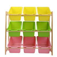 儿童玩具架收纳置物架玩具柜幼儿园整理架