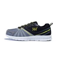 361度男鞋 秋季新款跑步鞋男361慢跑鞋男冬季耐磨运动鞋C