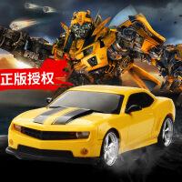 信宇雪弗兰充电遥控玩具车耐摔儿童男孩玩具大黄蜂跑车