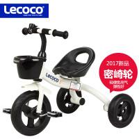 lecoco乐卡儿童三轮车脚踏车2-6岁宝宝童车幼儿玩具车免充气