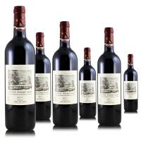 拉菲 杜哈米隆 法国波尔多梅多克波亚克 原装进口aoc赤霞珠梅洛红酒 750ml*6