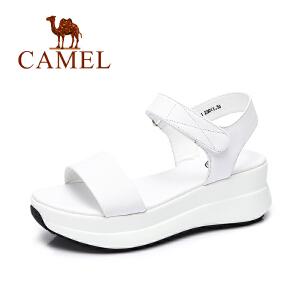Camel/骆驼女鞋 2017春夏新款舒适女凉鞋 日常简约女生凉鞋