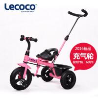 lecoco乐卡2-3-4-5-6岁儿童三轮车脚踏车宝宝自行车手推童车1