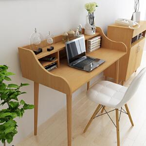 御目 电脑桌 懒人床边笔记本办公桌家用床上简易书桌简约折叠移动小桌子书房创意家具