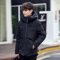 冬季轻薄羽绒服男立领修身短款青年羽绒服韩版潮流冬装男士外套