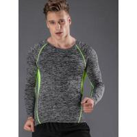 速干衣夜跑服  男士健身长袖上衣 健身房运动长袖紧身服    支持礼品卡