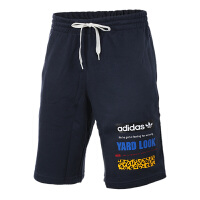 Adidas阿迪达斯男裤 三叶草运动休闲透气短裤 BS4794