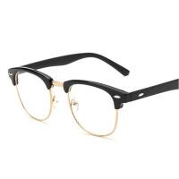 男女平光防辐射眼镜防蓝光电脑护目镜可配镜