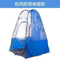 夜钓防虫户外垂钓单人帐篷防雨遮阳自动速开防风钓鱼用品