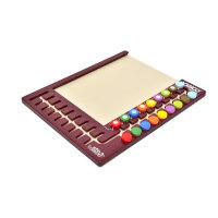 逻辑狗儿童思维训练(十八钮)18钮操作板 男孩女孩通用益智幼儿园小学数学几何培训教具