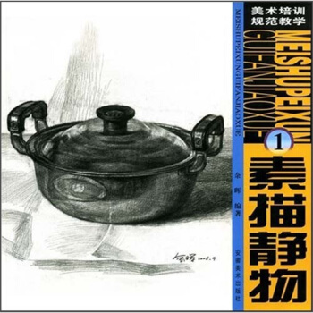 美术培训规范教学1:素描静物 余晖 9787539814421 安徽美术出版社