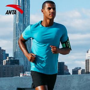 安踏男子运动短袖 2017夏季新款训练健身速干舒适运动T恤15725145
