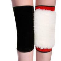 护膝保暖男女士 护膝 中老年皮毛一体厚护膝