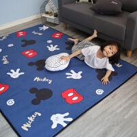 宝宝爬行垫加厚 婴儿垫子客厅法莱绒爬爬垫家用儿童地垫