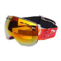 儿童双层防雾滑雪眼镜儿童滑雪镜球面大视野雪地护目镜
